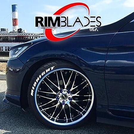 Rimblades - Protectores de llantas de aleación de ruedas de coche, de goma: Amazon.es: Coche y moto