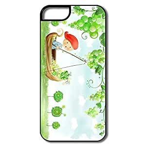 Funny Beautiful Autumn Landscape Pc Case Cover For IPhone 5/5s