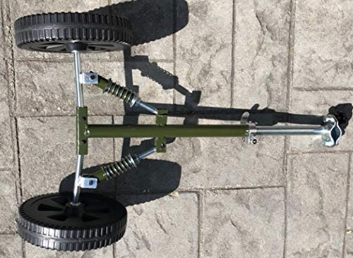 Grasshopper Universal String Line Trimmer Wheels 4 Gas/Electric Independent Suspension Shock