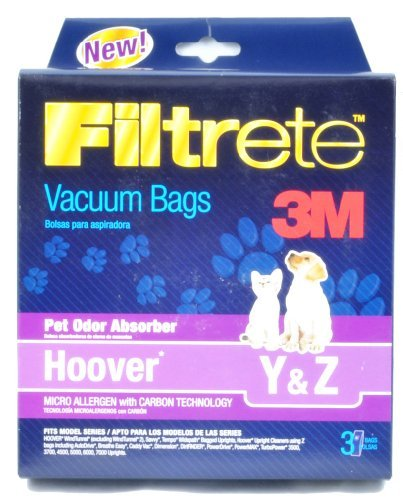Hoover Y, Hoover Z vacuum Cleaner Bags (Hoover Tempo Widepath)