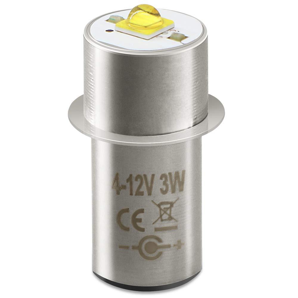 LED Conversion para Maglite de 3 a 6 Elementos 220 lumenes