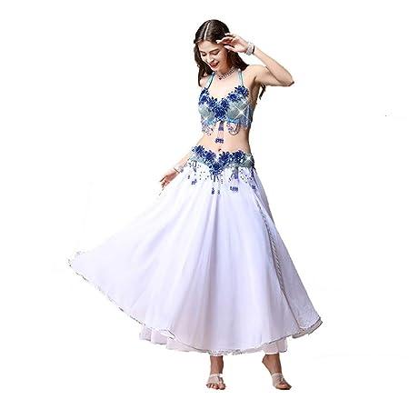WyaengHai Vestido de Danza del Vientre Traje De Danza del Vientre ...