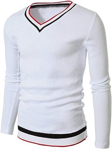 qulvyushangmaobu Camiseta Casual de Manga Corta para Hombres ...
