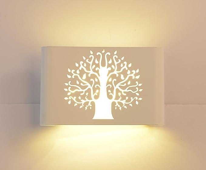 Sparksor design moderno led regolabile lampada da parete applique da