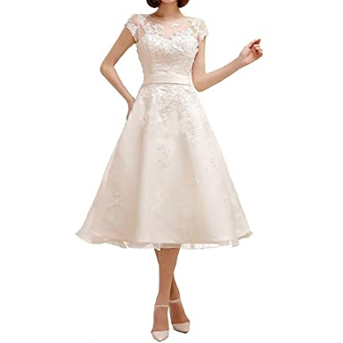 Lampang Women\'s Bridesmaid Dresses Lace Knee-Length Wedding Dress ...