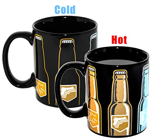 Paladone Call of Duty Epic Six Pack Heat Change Ceramic Coffee Mug (Best Selling Cod Game)