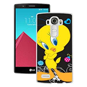 Diy tweety bird White Durable LG G4 Protective Skin Cover Case