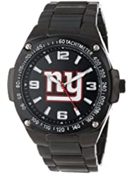 Game Time Unisex NFL-WAR-NYG Warrior New York Giants Analog 3-Hand Watch