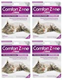 Comfort Zone with Feliway 4-Pack Cats Diffusers