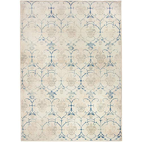 RUGGABLE Washable Stain Resistant Indoor/Outdoor, Kids, Pets, and Dog Friendly Area Rug 5