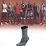 Nike Youth Elite Versatility Black Grey Crew