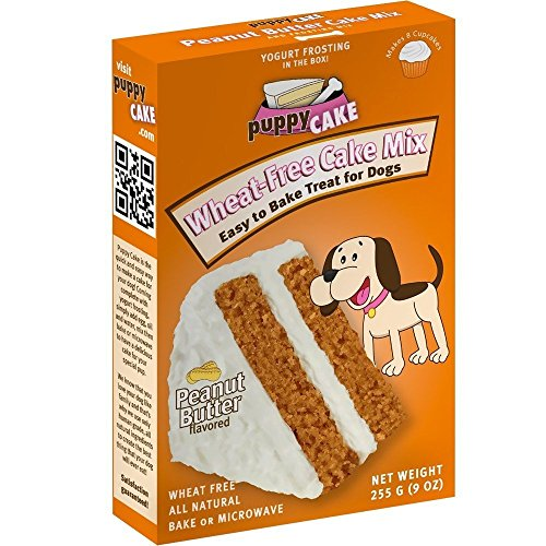 Puppy Cake Wheat-Free Peanut Butter Cake Mix and Frosting for Dogs (Bone Shaped Cake Pan compare prices)