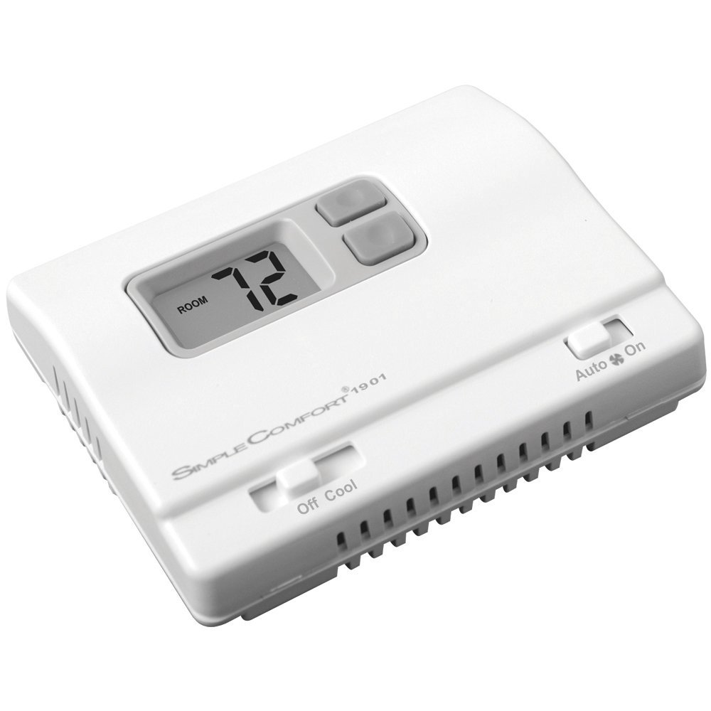 ICM Controls SC1901L Simplecomfort Non-Programmable Cool Only Thermostat