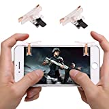 PUBG Mobile Controller, Mobile Game Controllers Fire and Aim L1R1 Trigger Buttons for PUBG Mobile/Knives Out/Rules of Survial - T10