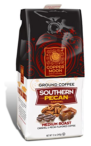 Copper Moon Ground Coffee Southern Pecan Caramel 12 Ounce
