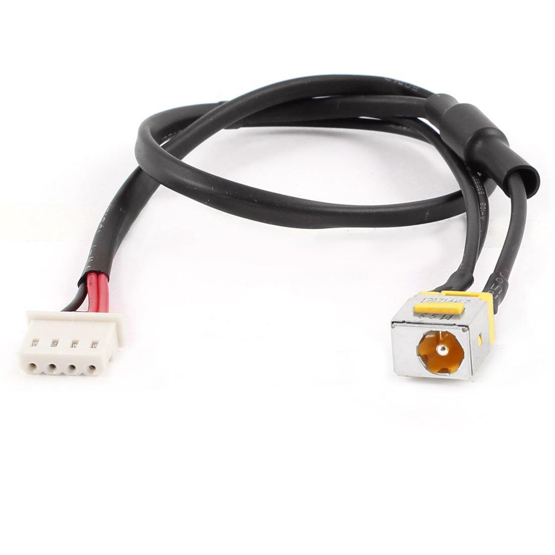 DealMux Laptop DC Power Jack Caja de Cables del arnés del Alambre ...