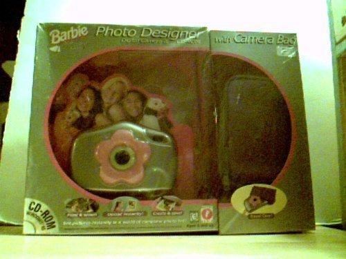 Barbie Photo Designer Digital Camera & CD-ROM with Camera Bag (1998)