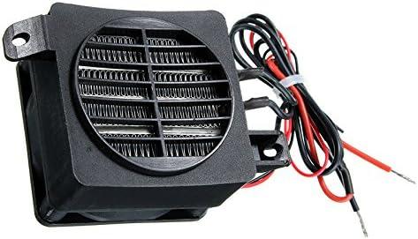 Tutoy 100W 12V 60X60M DC PTC Ventilador Calentador De Temperatura Constante Incubadora: Amazon.es: Hogar