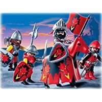 Playmobil - 3319 - Chevaliers - Chevaliers dragon rouge