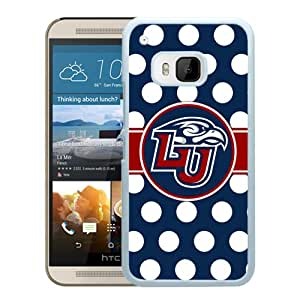 NCAA Liberty Flames 8 White Popular Custom Design HTC ONE M9 Phone Case