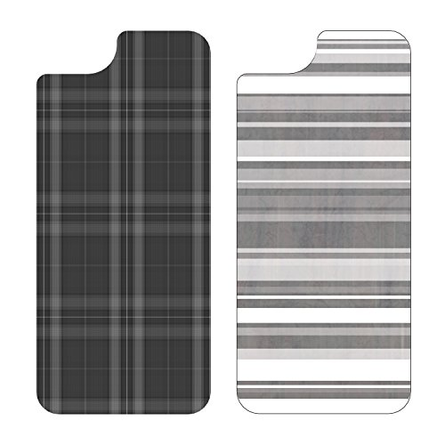 OtterBox My Symmetry Graphic Insert 2PK for iPhone 5/5s - Grey Plaid and Grey Stripe (Iphone 5s Case Inserts compare prices)