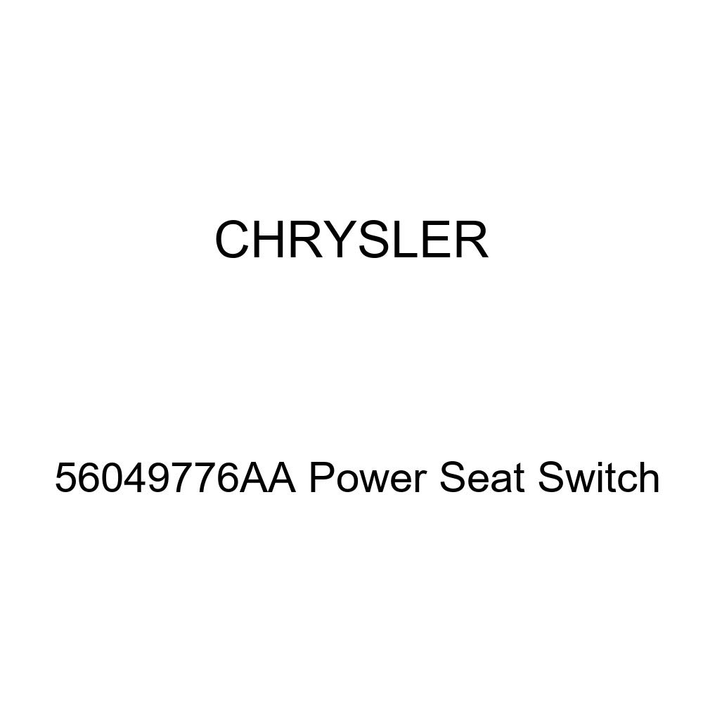 Genuine Chrysler 56049776AA Power Seat Switch