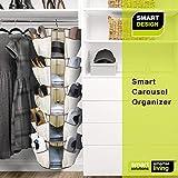 Smart Design 5-Tier Smart Carousel Organizer