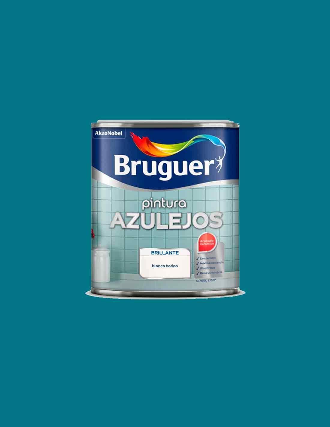 BRUGUER Azul Egeo Esmalte Azulejos 750 ML: Amazon.es: Jardín
