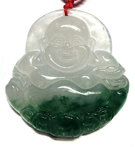 Feng Shui Jade Money /Happy/laughing Bud - Luck Buddha Pendant Shopping Results