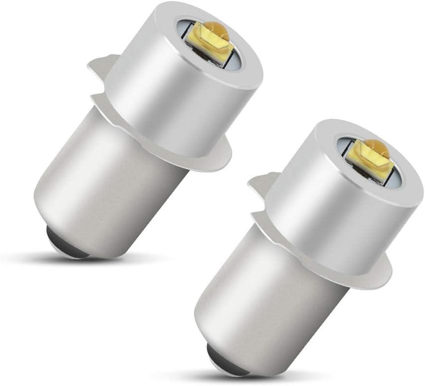 P13,5s Krypton Fernsichtbirnchen Glühlampe Ersatzlampe olivenform 10x 4,8V 0,7A