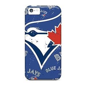 JohnPrimeauMaurice Iphone 5c Durable Cell-phone Hard Cover Provide Private Custom Lifelike Toronto Blue Jays Image [Zwa19035JblO]