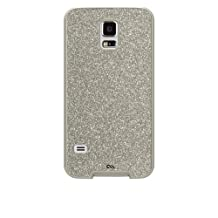 Case-Mate Glam Case for Samsung Galaxy S5, Carrying Case, Retail Packaging, Champagne