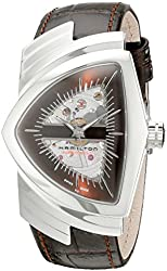 Hamilton Men's H24515591 Ventura Analog Display Automatic Self Wind Brown Watch