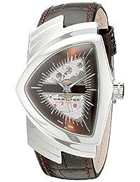 Hamilton Men's H24515591 Ventura Analog Display Automatic Self Wind Brown Watch
