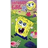 SpongeBob SquarePants - Birthday Girl Birthday Card With Badge SB031