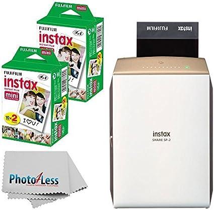 Amazon.com: Fujifilm Instax Share SP-2 - Impresora para ...
