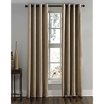 Amazon Com Curtainworks Marquee Curtain Panel 30 By 132