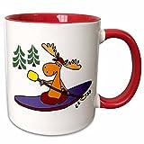 3dRose mug%5F243506%5F5 Funny Cool Moose