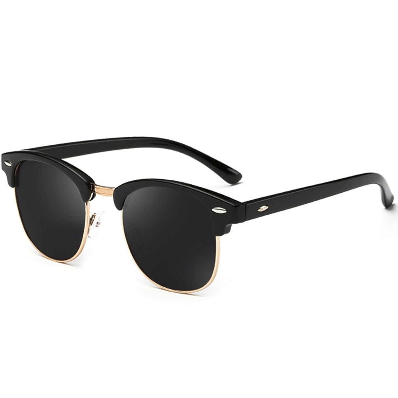 dddcb897f9 Joopin Semi Rimless Polarized Sunglasses Women Men Retro Brand Sun ...