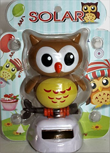 Solar Power Motion Toy - Owl, Dancing
