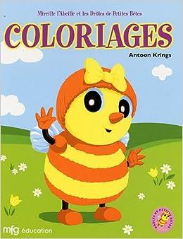 Coloriage Mireille Labeille.Mireille L Abeille Et Les Droles De Petites Betes