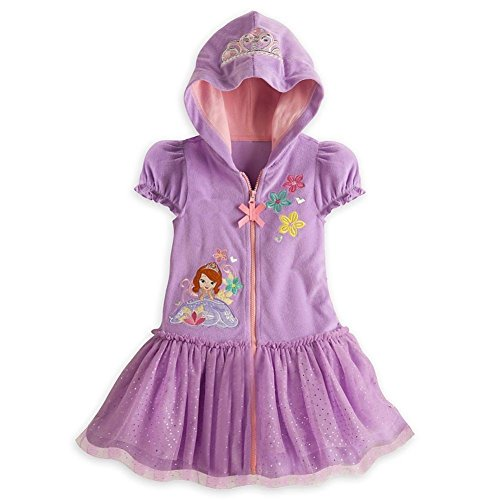 (Disney Store Sofia The First Little Girl Swimsuit Cover Up (5/6))