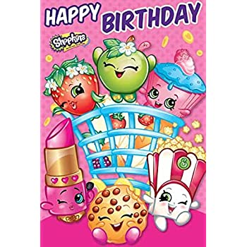 Amazon Shopkins Happy Birthday Card Toys Games
