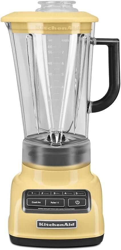 KitchenAid KSB1575 Batidora de vaso 1.7L Amarillo - Licuadora (1,7 ...