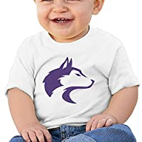 JJVAT Baby's University Of Washington T Shirts For 2-24 Months Unisex White