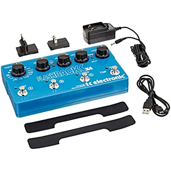 TC Electronic Flashback X4 Guitar Delay Effects Pedal