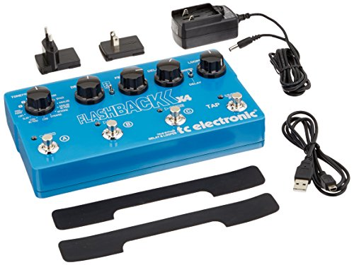TC Electronic Flashback X4 Guitar Delay Effects Pedal (Best Delay Pedal For The Money)