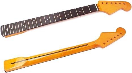 Healifty Cuello de guitarra 22 trastes de palisandro para sl ...