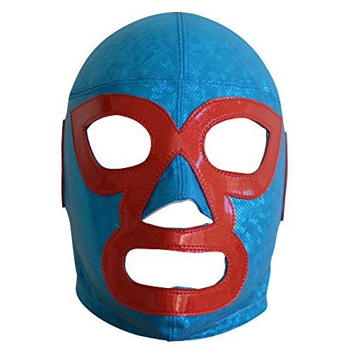 Deportes Martinez Nacho Libre Semi-Professional Wrestling Lucha Libre Mask For Adults Luchador Mask Costume Wear Pro by Deportes Martinez