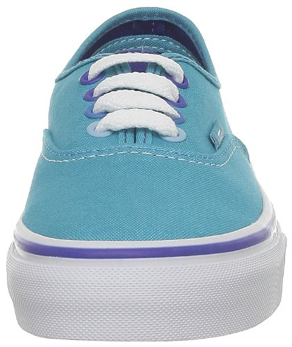 Vans K Authentic, Zapatillas Niño Azul (Multi Pop Peac)